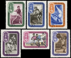 ** Soviet Union / Russia - 1957 - Olympic Games 1956 - Mi. 1967-72 - Summer 1956: Melbourne