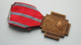 VUURKRUIS Medaille CROIX DU FEU 1914 -1918 ( Salus Patriae - Suprema Lex ) ( +/- 36,5 Gr. ) ! - Belgium