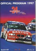 24 Heures De Spa - Francorchamps - 1997 - Album - Programme Officiel - Programmes