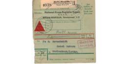Allemagne  - Colis Postal  Départ Berlin Neukölln ( National Krupp Registrier Kassen )    -  8-2-43 - Allemagne