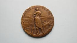 1914 - IJZER ... NIET OVER - 1918 Hulde Aan RUTTEN John ( Houder Van De VUURKAART ) ( +/- 104 Gr. ) ! - Belgium