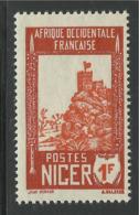 NIGER 1938 YT 45A** SANS CHARNIERE NI TRACE - Nuovi
