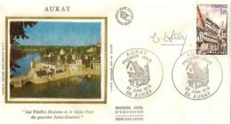 FDC 1er Jour : Auray 30/06/1979 N° 2041 Signé Claude HALEY - FDC