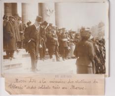 MESSE DITE MÉMOIRE VICTIMES DU TITANIC ET SOLDATS TUE AU MAROC 18*13CM Maurice-Louis BRANGER PARÍS (1874-1950) - Barcos