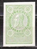 Timbre Téléphone - Essai Non Dentelé En Vert - MNG - LOOK!!!! - Proofs & Reprints