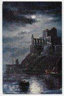 Peel Castle - Tuck Oilette 6216 - Isle Of Man
