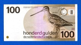 Pays Bas  100 Gulden  1977  Sup - [2] 1815-… : Royaume Des Pays-Bas