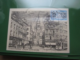 """VEND TIMBRE DE FRANCE N° 1927 SUR CARTE """" LE HAVRE D'AUTREFOIS """" !!! - Briefe U. Dokumente"""