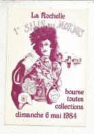 Cp, Bourses& Salons De Collections, 1 Er Salon Des MORDUS ,bourse Toutes Collections,1984,LA ROCHELLE,n° 574 - Bourses & Salons De Collections