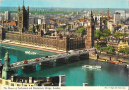 LONDON - The Houses Of Parliament And Westminster Bridge - Houses Of Parliament