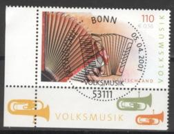 BRD 2180 Eckrand Links Unten O Sonderstempel Bonn - [7] Federal Republic