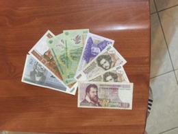 EUROPE      8    BILLETS   LOT - 100 Francs