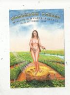 Cp, Bourses& Salons De Collections, 19 E Salon De La Carte Postale ,illustrateur André Le Guilloux, 1998,BORDEAUX-PESSAC - Bourses & Salons De Collections