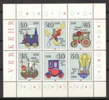DDR Kleinbogen 2566/71 10er Packung ** Postfrisch - DDR