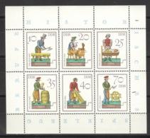 DDR Kleinbogen 2758/63 10er Packung ** Postfrisch - DDR
