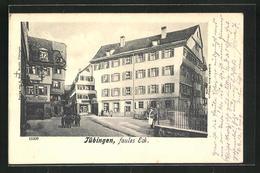AK Tübingen, Strassenpartie Am Faulen Eck - Tübingen