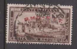Trieste Allied Military Government S 41 1949 Centenary Roman Republic Used, - 7. Trieste