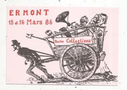 Cp, Bourses& Salons De Collections, Salon Toutes Collections ,1986,ERMONT ,95,vierge,n° 132 - Bourses & Salons De Collections