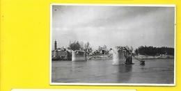 ARLES Bombardé 1944 Carte Photo Le Pont (George) Bouches Du Rhône (13) - Arles