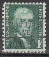USA Precancel Vorausentwertung Preo, Locals Maine, North Turner 843 - Vereinigte Staaten