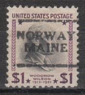 USA Precancel Vorausentwertung Preo, Locals Maine, Norway 701 - Vereinigte Staaten