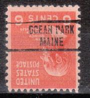 USA Precancel Vorausentwertung Preo, Locals Maine, Ocean Park 734 - Vereinigte Staaten