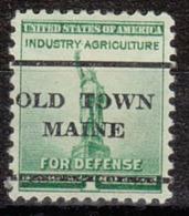 USA Precancel Vorausentwertung Preo, Locals Maine, Oldtown L-1 TS - Vereinigte Staaten