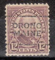 USA Precancel Vorausentwertung Preo, Locals Maine, Orono 693-701 - Vereinigte Staaten