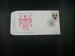 """BELG.1992 2483 FDC (Brux/Brus) : """"Thurn En Tassis / Toun Et Tassis """" - FDC"""