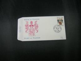 """BELG.1992 2483 FDC (Stekene) : """"Thurn En Tassis / Tour Et Tassis """" - FDC"""