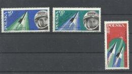 POLONIA  YVERT  1281/83    MNH  ** - 1944-.... República