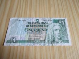 Ecosse.Billet 1 Livre Sterling 25/03/1987. - Ecosse