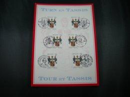 """BELG.1992 2483 FDC Filatelic Card : """"Thurn En Tassis / Tour Et Tassis """" - FDC"""