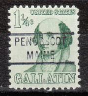 USA Precancel Vorausentwertung Preo, Locals Maine, Penobscot 821 - Vereinigte Staaten