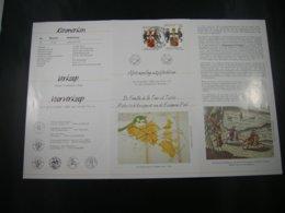 """BELG.1992 2483 Folder Nl Met 1°dag Stekene  : """"Thurn En Tassis / Tour Et Tassis """" - FDC"""