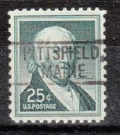 USA Precancel Vorausentwertung Preo, Locals Maine, Pittsfield 802 - Vereinigte Staaten