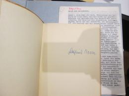 Probleme Der Lyrik SIGNIERT. Dabei: Typoskript Genie Und Gesundheit (1930) - Autographs