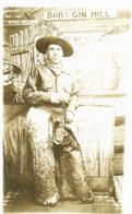 COW BOY  PHOTO CARTE 1900 - Autres