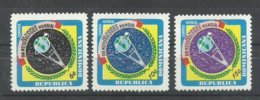 DOMINICANA YVERT  662,  AEREO  199/200  MNH  ** - Dominicaine (République)
