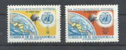 EL SALVADOR  YVERT  727/28   MNH  ** - El Salvador