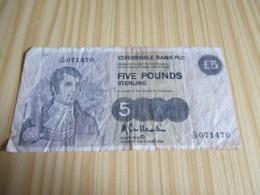 Ecosse.Billet 5 Livres Sterling 02/08/1988. - Ecosse