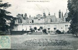 N°75595 -cpa Château Du Petit Bois -Mettray- - Châteaux