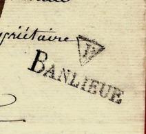1830 PARIS BANLIEUE Coulon Pour Gennevilliers Leboeuf  LETTRE Sign. Maçonnique Paris VOIR TEXTE - Autogramme & Autographen