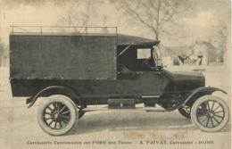 21 Dijon établissement Privat  Carrosserie Camionette Sur Ford Une Tonne Ref 1884 - Dijon