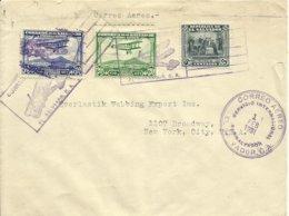 EL SALVADOR,  CARTA CIRCULADA A NEW YORK  EL 1/2/1931 - El Salvador