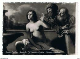 PARMA:  GALLERIA  NAZIONALE  -  G. FRANCESCO  BARBIERI  -  SUSANNA  E  I  VECCHIONI  -  FOTO  -  FG - Musei