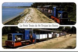 17 ILE D'OLERON  SAINT-TROJAN-LES-BAINS  LE PETIT TRAIN TOURISTIQUE - Ile D'Oléron