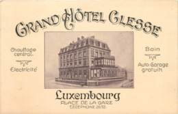 Luxembourg : Grand Hôtel Clesse - Luxembourg - Ville