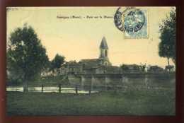 55 - SAUVIGNY - PONT SUR LA MEUSE - AUTRE EDITEUR - CARTE ANCIENNE COLORISEE - Autres Communes