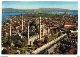 ISTANBUL:   THE  MOSQUE  OF  SULEYMANIYE  -  TO  ITALY  -  FG - Turchia